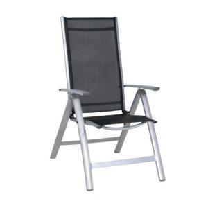 7-pozycyjne aluminiowe krzesło ogrodowe MIR-T972