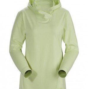 ARCTERYX Bluza damska REMIGE HOODY - rozmiar M - kolor zielony -