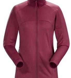 ARCTERYX Bluza polarowa damska ELLISON JACKET - rozmiar M - kolor fioletowy -