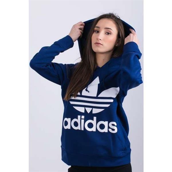 Bluza adidas TREFOIL HOODIE DARK BLUE