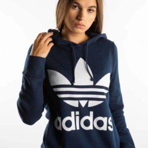 Bluza damska adidas TREFOIL HOODIE 410 COLLEGIATE NAVY