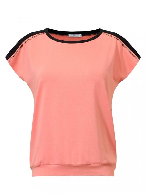 Bluzka w pomarańczowym kolorze Potis & Verso PABLA