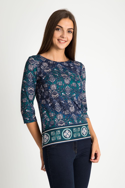 Bluzka z orientalnym wzorem