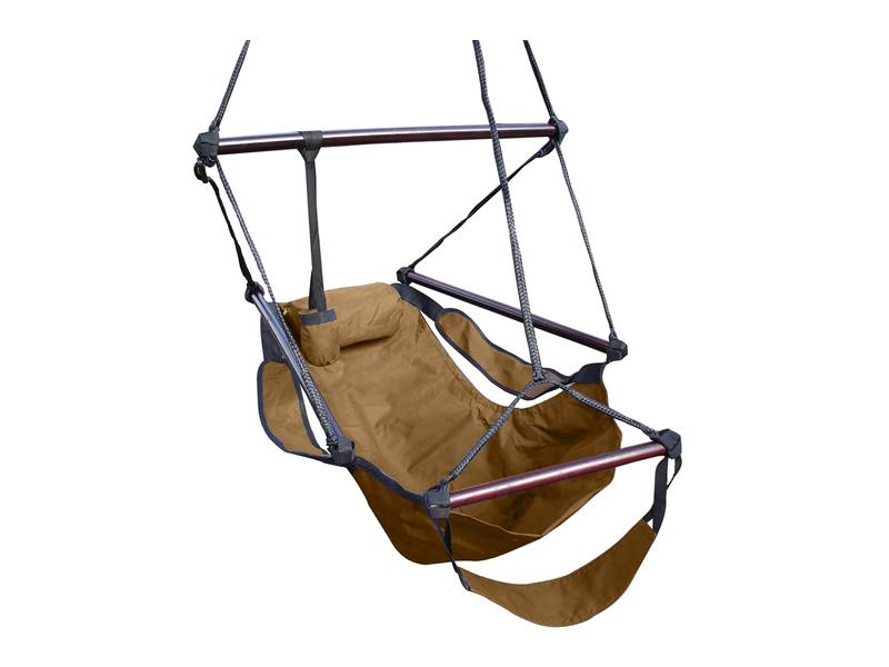 Fotel hamakowy, Brązowy HANG