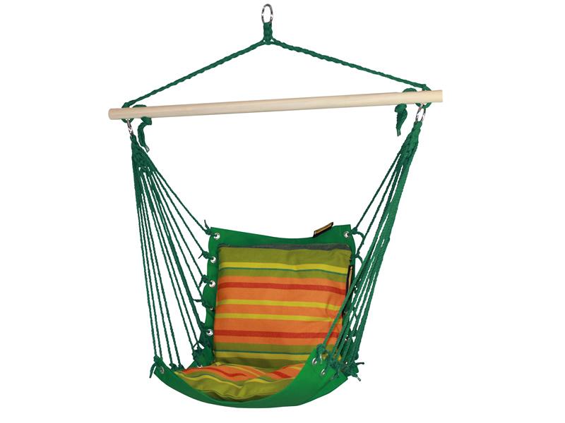 Fotel hamakowy, Zielony HC-5