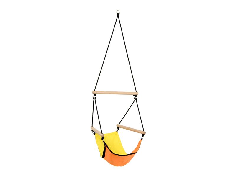 Fotel hamakowy dla dzieci, Żółty Kids Swinger