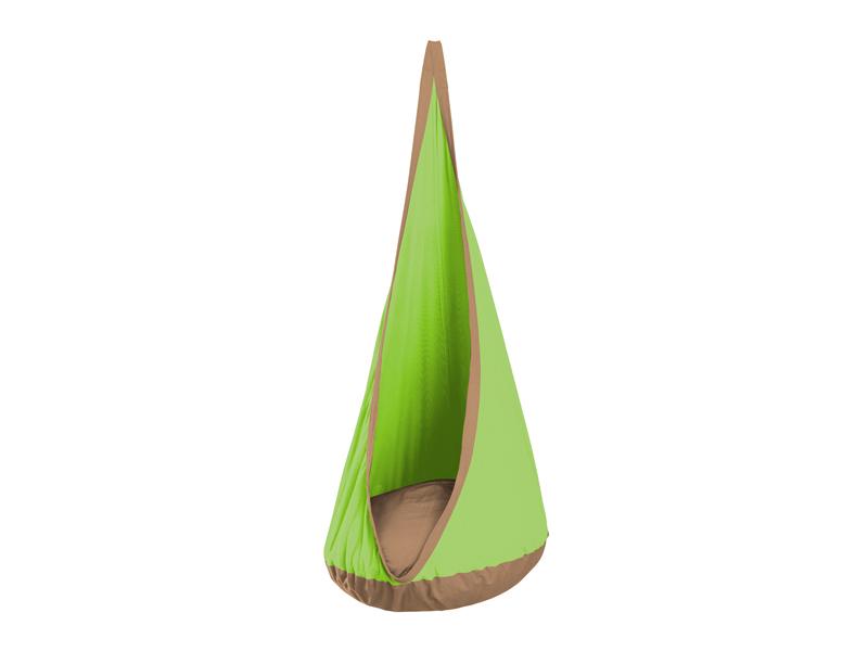 Fotel hamakowy dla dzieci JOKI, Zielony JKD70
