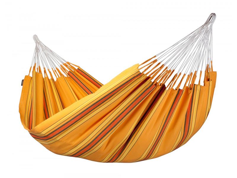 Hamak dwuosobowy Currambera H160, pomarańczowy CUH16