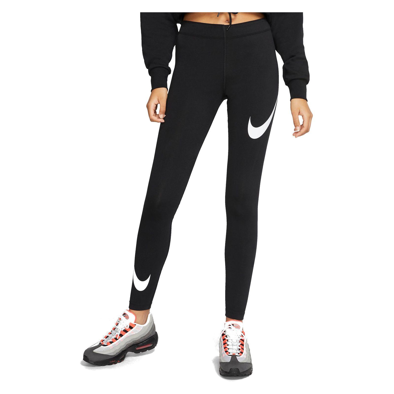Legginsy damskie Nike Sportswear Leg-A-See Swoosh CJ2655