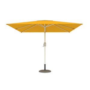 Parasol Ogrodowy, Kwadratowy, 3x3m, Żółty