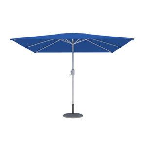 Parasol Ogrodowy, Kwadratowy, 3x3m, Niebieski