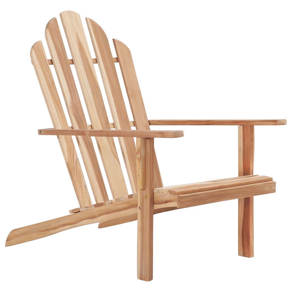 vidaXL Krzesło tekowe Adirondack