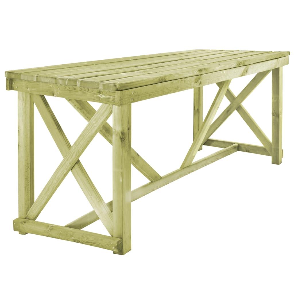 vidaXL Stół ogrodowy, 160 x 79 x 75 cm, drewno FSC