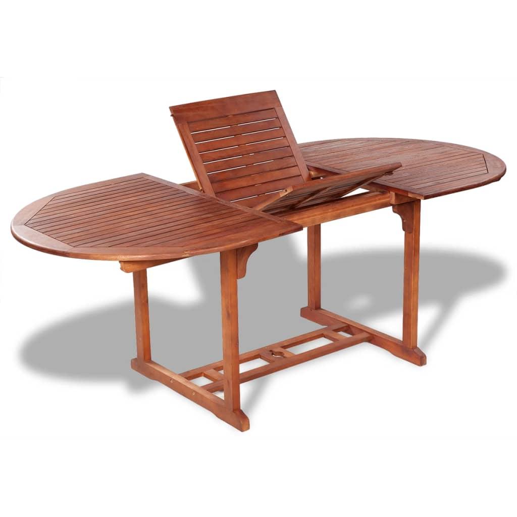 vidaXL Stół ogrodowy, 200x100x74 cm, lite drewno akacjowe