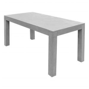vidaXL Stół ogrodowy, szary, 180x90x75 cm, betonowy