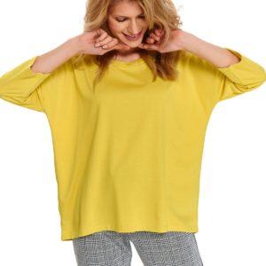 Bluza nierozpinana damska gładka